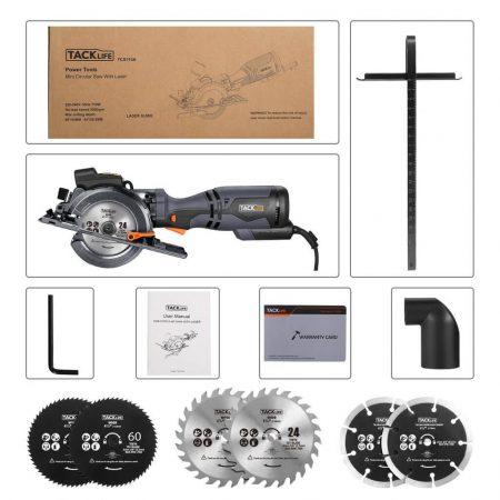 Accesorios mini sierra tacklige tcs 115a