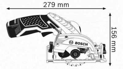 Comprar Mini Sierra Circular BOSCH GKS 12V-26