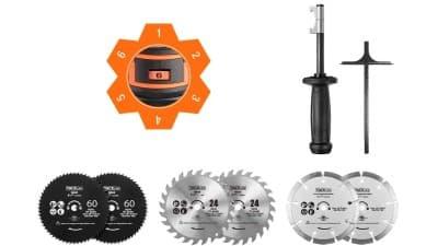 Accesorios minisierra circular TCS115E