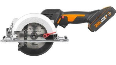 Mini sierra circular Worx WX531 a bateria